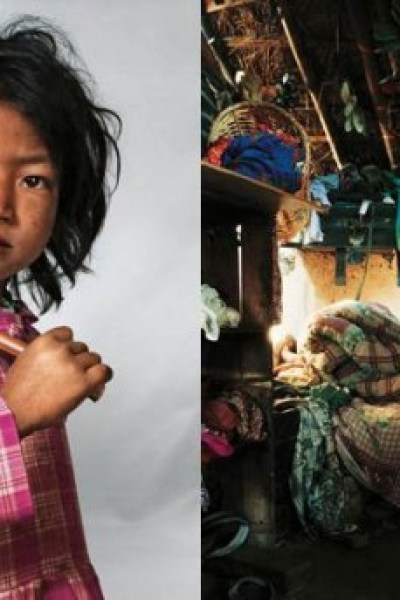 Telling Images of Children's Lives Around the World