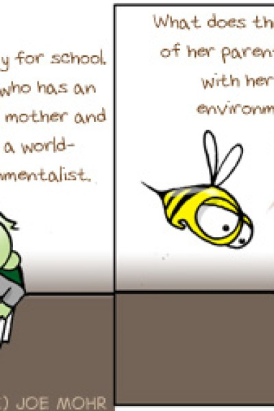 Hank D and the Bee: Green Kids