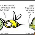 Hank D and the Bee: In Hank's Head