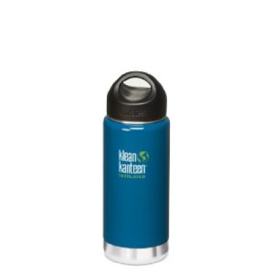 Eco-Friendly Products:  Color Klean Kanteen Wide Mouth Insulated Stainless Steel Drinking Bottles