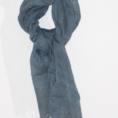 Green Gift Giveaway and Product Review:  Fair Trade, Handloomed, Naturally Dyed SLOWCOLOR Linen Scarves