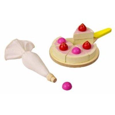 Eco-Friendly Toys:  Plan Toys Cake Set