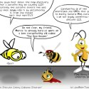Hank D and the Bee: 3 Bees Discuss Colony Collapse Disorder (CCD)