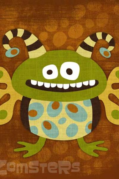 Green Kids Apparel and Decor:  Zomsters' Sustainable Kid Clothing and Art Designs