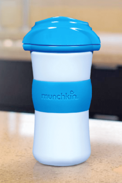 Plastic Munchkin Toddler Cups:  BPA-Free But I Think Glass is Still Best
