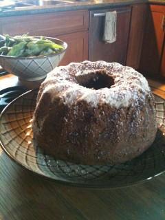 Vegan, No Sugar, Maple Syrup, Spelt Bundt Cake Recipe