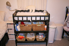 Baby Essentials That Aren't, Part 9: Changing Tables