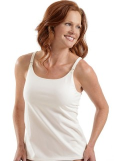 Sustainable Fashion:  Organic Nursing Camisole