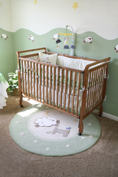 The Friendliest Materials for Baby's Bedrooms