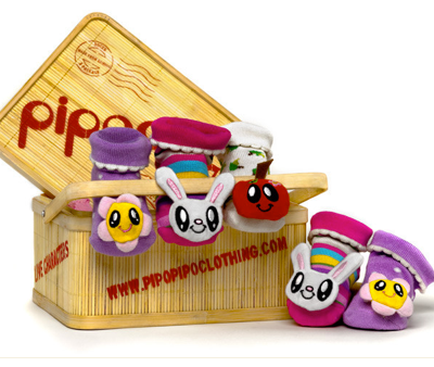PipoPipo:  Super Cute Eco-Friendly Socks for Infants