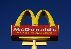 fast food logos imprint children's brains