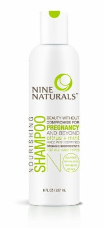 100% Natural, Safe Haircare for Pregnancy and Beyond:  Nine Naturals