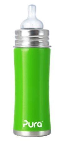 BPA-Free, Safe Stainless Steel Baby Bottles by Pura Kiki