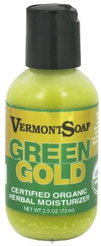 Relief for garden hands:  Vermont Soap organic hemp Green Gold Herbal Moisturizer