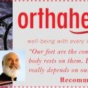 Dr. Weil recommends Orthaheel!   Proper foot care promotes optimum health!