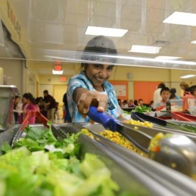 New York public school adopts 100% vegetarian school lunch