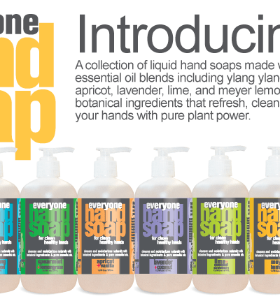 Everyone Hand Soap by EO for clean + healthy hands