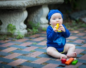 super soft organic brushed cotton to keep your little one cozy and on the move.