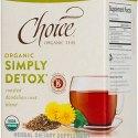 Choice Organic Wellness Teas:  Breathing Space, Throat Cozy, Simply Detox