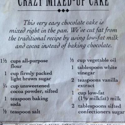 The best vegan chocolate cake recipe ever!