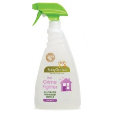 Naturally Safe, Non-Toxic Cleaning:  BabyGanics