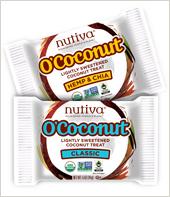Healthy treats for Halloween!  Nutiva O'Coconut