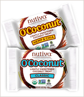 Healthy treats for Halloween!  Nutiva O'Coconut