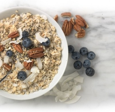 Happy Oatmeal Month:  Nature's Path Gluten-free, Organic Qi'a Superfood Packets