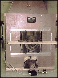 Temple Grandin's squeeze machine