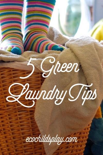 5 Green Laundry Tips