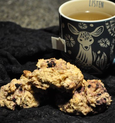 Maple Lavender Blackberry Scones