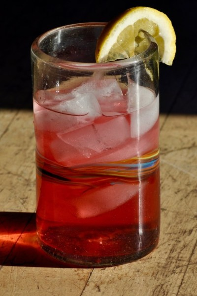 Lemon Blackberry Hibiscus Sun Tea