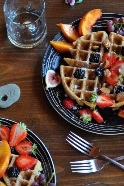 vegan waffles