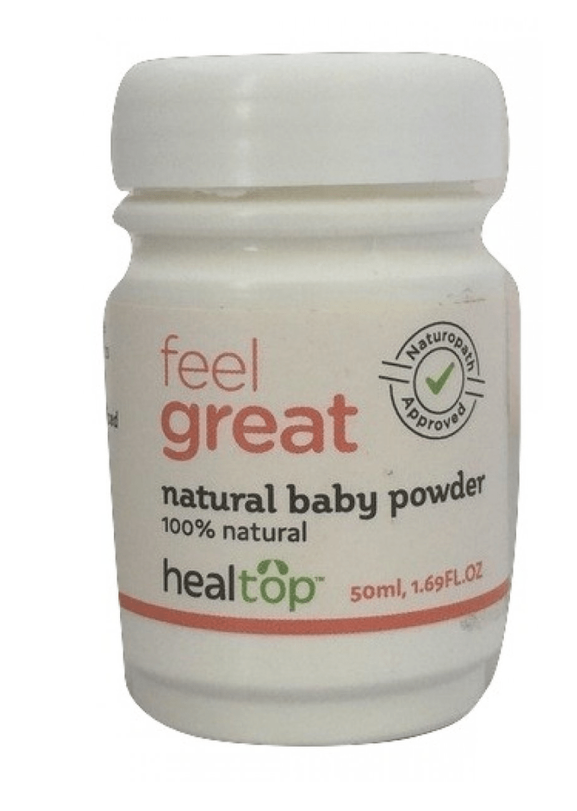 safe baby powder