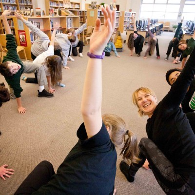 School Yoga Reduces Children's Anxiety