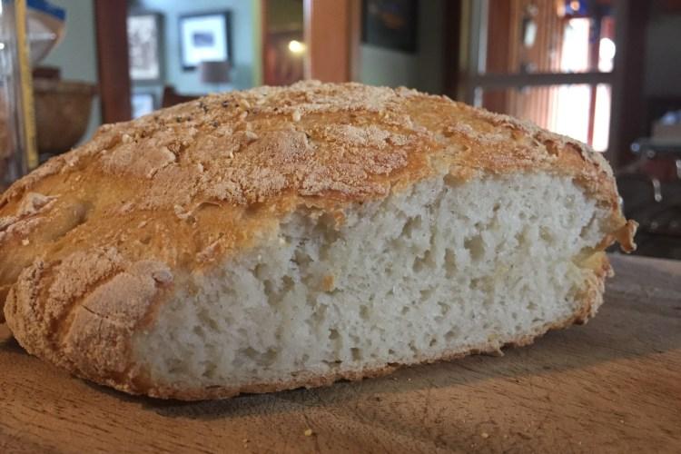 gluten-free no knead bread