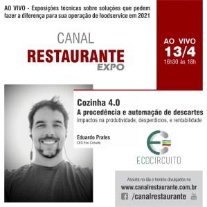Eco Circuito no Canal Restaurante Expo