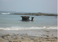 rocks at Saboga Island