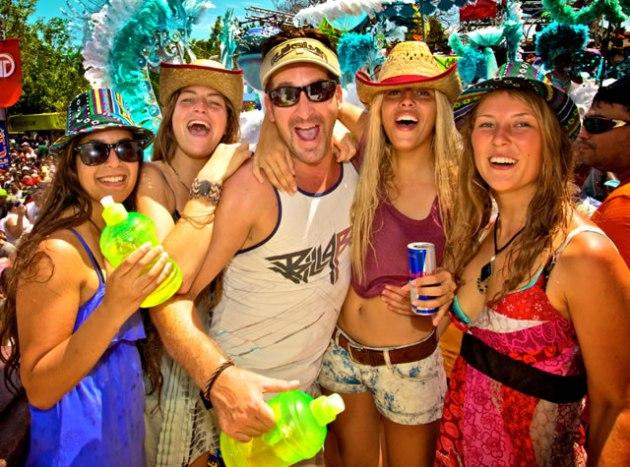 Carinval in Panama