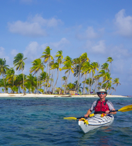Kayaking the San Blas archipelago