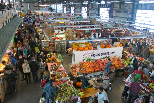 Halifax Seaport Farmer's Market. Photo by Destination Halifax.