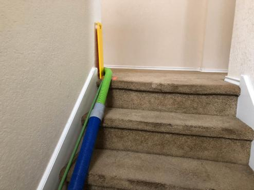 protecting customer's baseboards