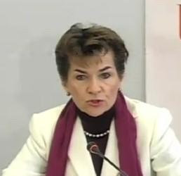 Крістіана Фігуерес (Christiana Figueres), виконавчий секретар Рамкової конвенції ООН зі зміни клімату,