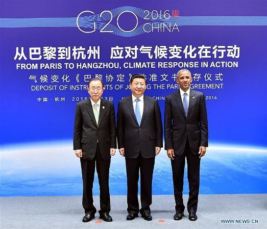 США та Китай ратифікували Паризьку угоду