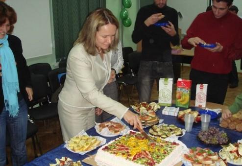 Урочисте святкування першого дня народження Екоклубу Зелена Хвиля