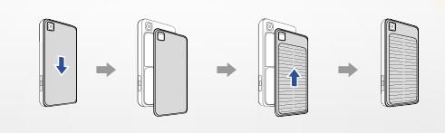 Сонячна батарея мобільного телефона LG