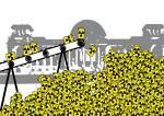 Українці та німці протестують проти атомних електростанцій