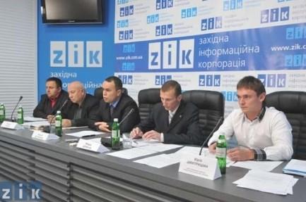 прес-конференція представників Комітету екологічного порятунку з приводу ситуації на Грибовецькому сміттєзвалищі