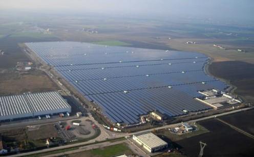 Найбільша в Європі сонячна електростанція