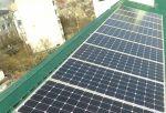 В Херсоні встановлено сонячну електростанцію на даху багатоквартирного будинку